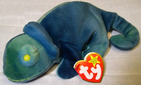 8e077944651 Five eclectic shops at Elizabeth s Shops  Rainbow - Ty-dye Chameleon - TY  Beanie Baby - 5th G