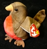 Early - Robin - TY Beanie Baby - 5th G