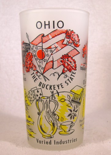 Hazel Atlas Gay Fad Studios Ohio State Glass