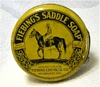 Vintage Advertising Tin Fiebing's Saddle Soap Container
