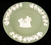 Wedgwood Sage Green Jasperware (jasper ware) Ashtray