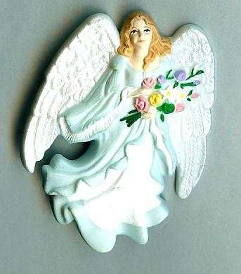 Hallmark Angel Lapel Pin - 25th Anniversary - 1998