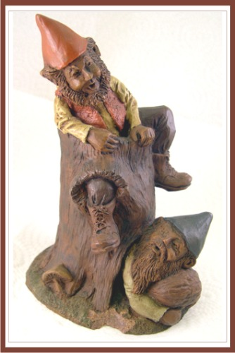 John Pleasants Gnome Sculpture Stumpy Creek Collection 1990