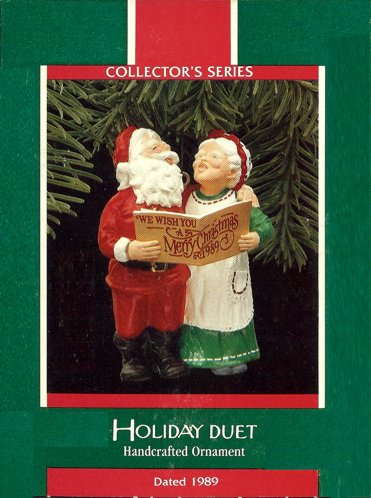 Mr. And Mrs. Claus - 4th - Holiday Duet - 1989