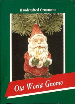 Old World Gnome - Santa - 1989