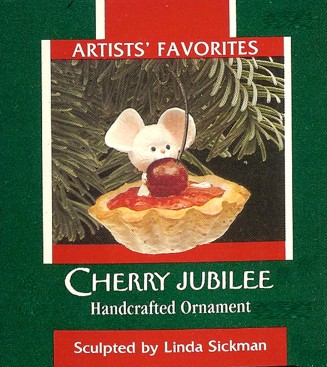 Cherry Jubilee - Mouse in Cherry Pie - Artists' Favorites - 1989