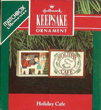 Holiday Caf� - Matchbox Memories - 1991