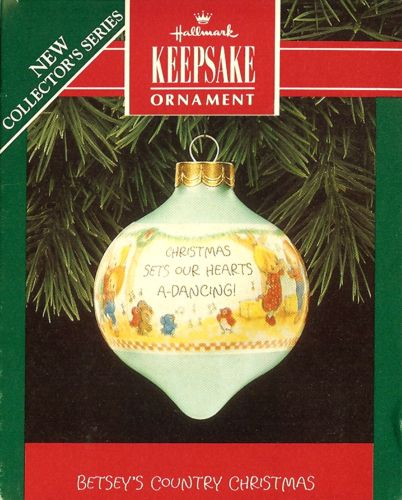 Betsey's Country Christmas - 1st - Glass - 1992