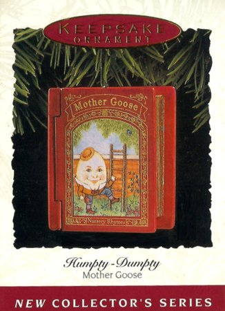 Mother Goose - 1st - Humpty-Dumpty - 1993