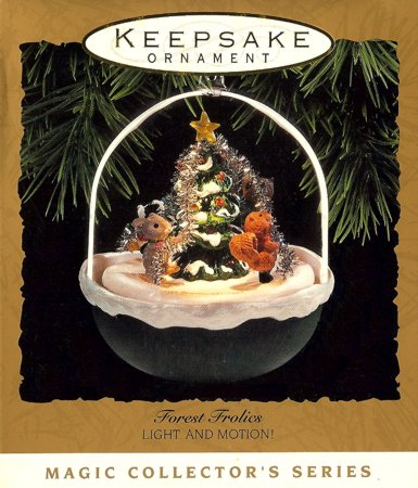 Forest Frolics - 5th - Animals Decorating Christmas Tree Magic 1993