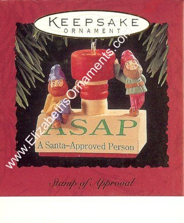 Stamp of Approval - ASAP - A Santa-Approved Person - 1994