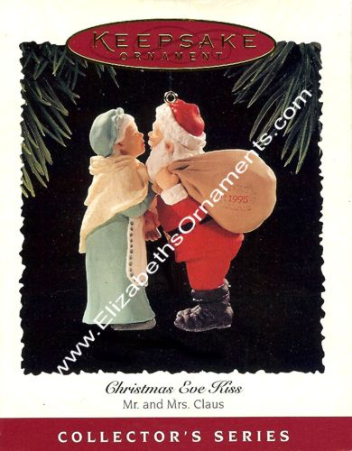 Mr. and Mrs. Claus - 10th and Final - Christmas Eve Kiss - 1995