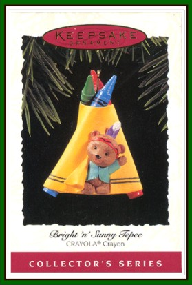 Crayola Crayon - 7th - Bright �n� Sunny Tepee - 1995