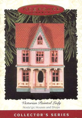 Nostalgic Houses and Shops - 13th - Victorian Painted Lady - 1996