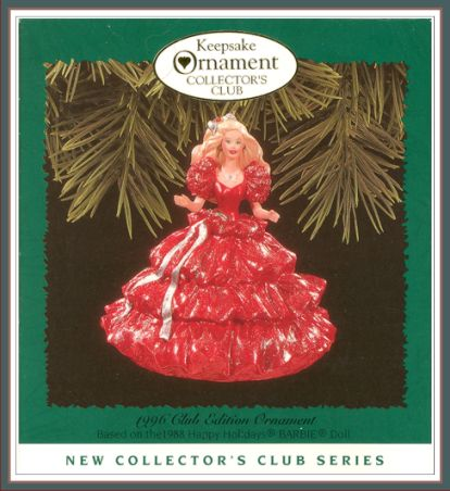Barbie - Happy Holiday - 1st in Collector�s Club Series - KOCC - 1996