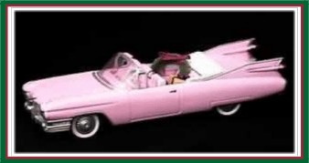Classic American Cars - 6th - 1959 Pink Cadillac De Ville - 1996