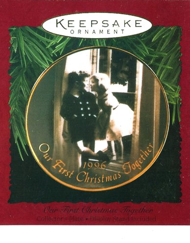 Our First Christmas Together - Collector�s Plate - 1996