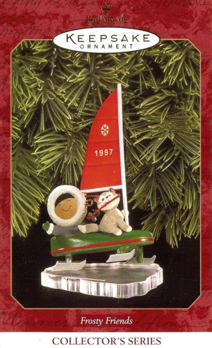 Frosty Friends - 18th - Ice Sail Boat - 1997