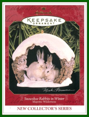 Majestic Wilderness - 1st - Snowshoe Rabbits in Winter - 1997