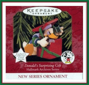 Hallmark Archives - 1st - Donald's Surprising Gift - 1997