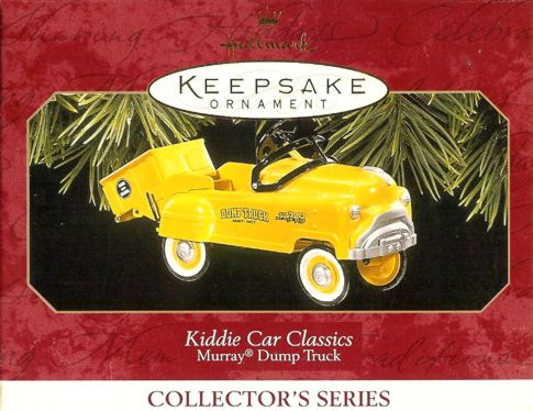 Kiddie Car Classics - 4th - Murray Dump Truck - 1997