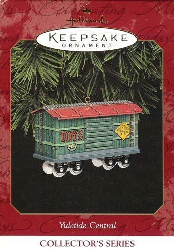 Yuletide Central - 4th - Cargo Car - Toys - 1997