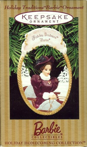 Holiday Traditions Barbie Ornament - 1997