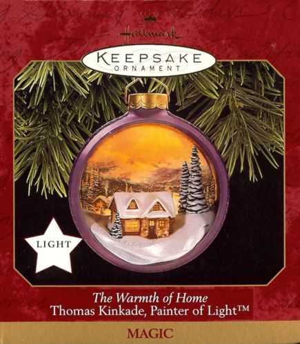 The Warmth of Home - Thomas Kinkade, Painter of Light - Magic - 1997