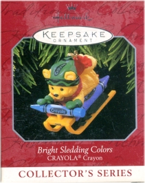 Crayola Crayon - 10th and Final - Bright Sledding Colors -1998