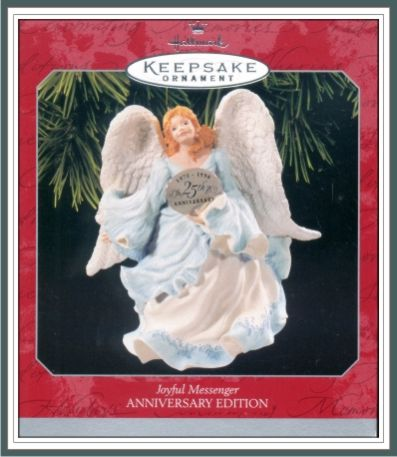 Joyful Messenger - Victorian Angel - Silver Plated - 1998