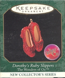The Wonders of Oz - 1st - Dorothy's Ruby Slippers - Miniature - 1999