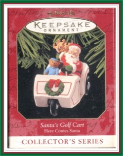 Here Comes Santa - 21st - Santa's Golf Cart -1999