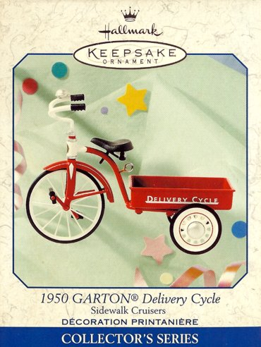Sidewalk Cruisers - 3rd - 1950 Garton Delivery Cycle - 1999