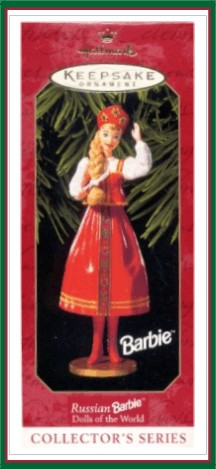 Dolls of the World - 4th & Final - Russian Barbie -1999