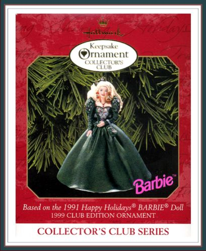 Barbie - Happy Holiday - 4th in Collector�s Club Series - KOCC - 1999