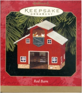 Red Barn - Pressed Tin - 1999