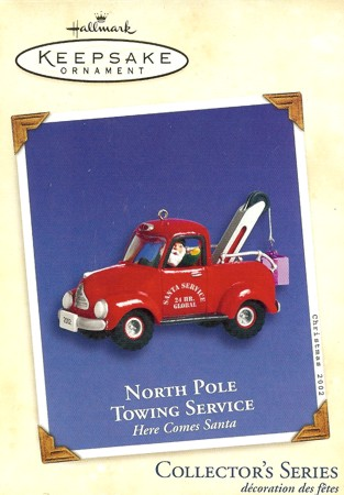 Here Comes Santa - 24th - North Pole Towing Service - 2002