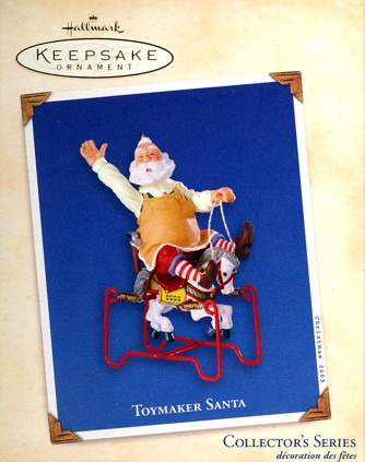 Toymaker Santa - 4th - 2003