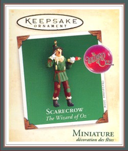 The Wizard of Oz - Scarecrow - Miniature - 2004