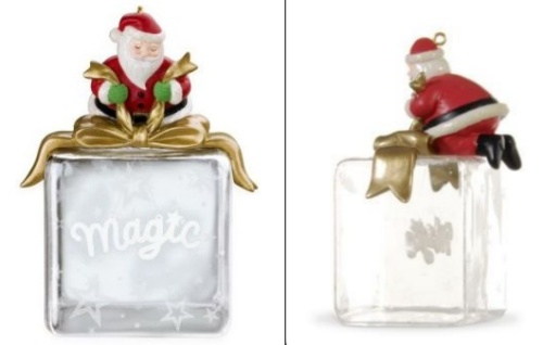 Santa's Magic Touch - Glass - 2009
