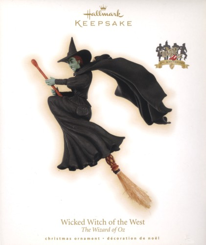 Wicked Witch of the West - The Wizard of Oz Miss Gulch - Hallmark 2009