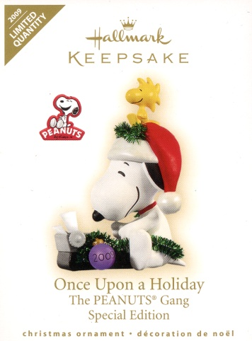 Once Upon a Holiday - The Peanuts Gang - Special Edition - 2009