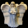 Angel Candle Holder - Porcelain
