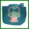 Cotton Canvas Holiday Season Shopping Bag