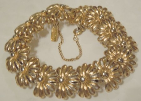 Five eclectic shops at Elizabeths Shops Vintage Monet Gold Tone