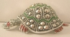 Vintage Costume Jewelry Signed Germany Turtle Pin Brooch