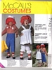 McCalls 7743 Raggedy Ann & Andy Costume Pattern Size 2-4