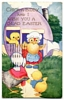 Vintage Easter Greeting Postcard - Postmarked 1938