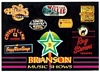 Postcard Advertising highlights of Branson Missouri Music Shows