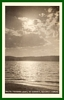 RPPC Real Photo Postcard Payette Lake at Sunset McCall ID
